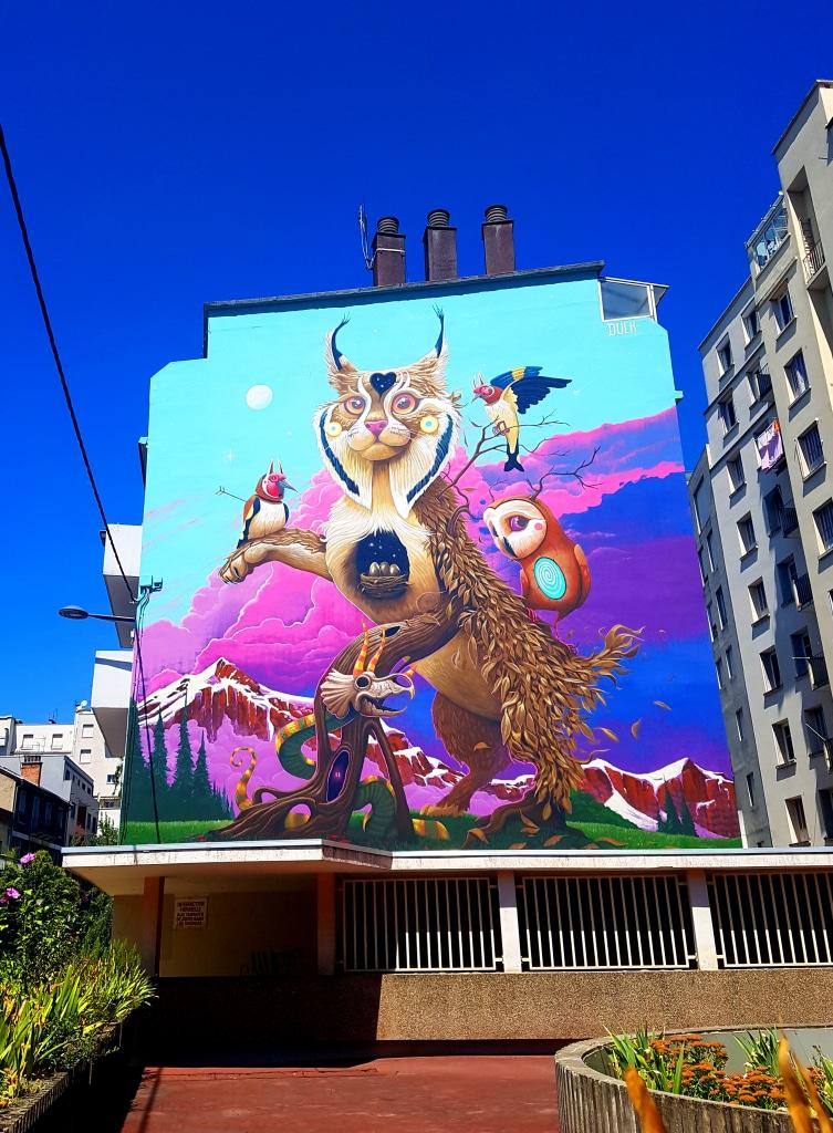 Dulk, 11 rue Elisée Chatin dans le quartier de Capuche à Grenoble.