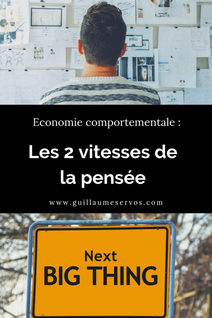 Comment prenons-nous nos décisions ? Initie-toi à l'économie comportementale et aux deux vitesses de la pensée avec le prix Nobel d'économie Daniel Kahneman.