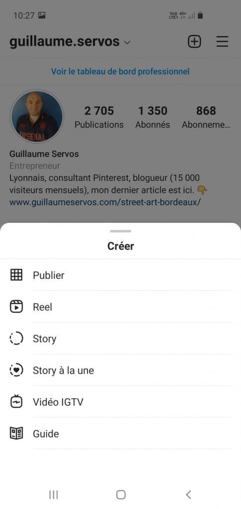 Guide étape par étape pour créer des stories Instagram