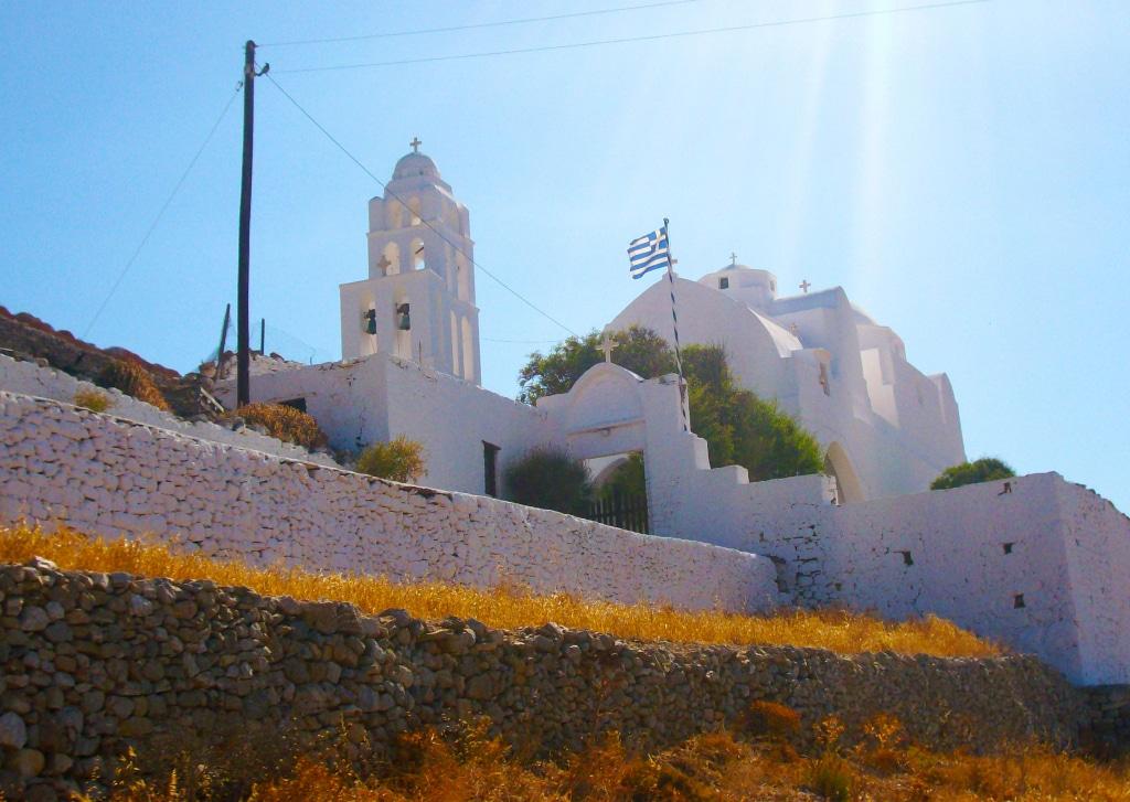 Eglise de la Panagia à Chora, Folégandros (Grèce)