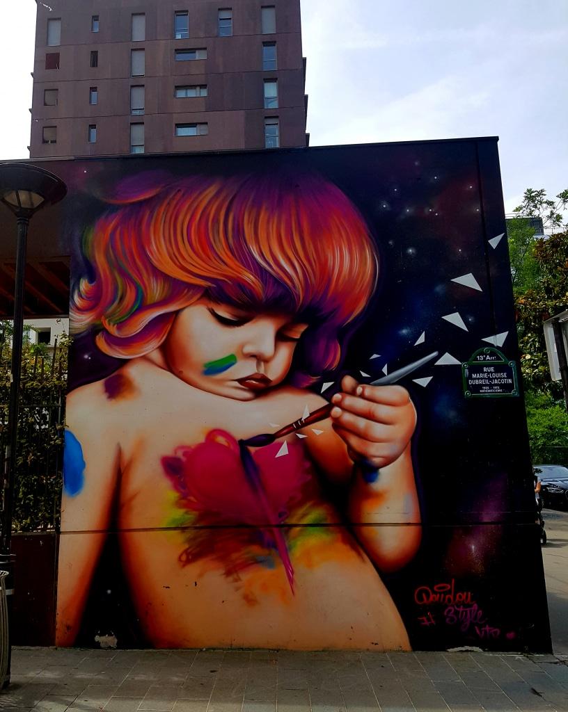 Street art en vrac dans le 13 arrondissement de Paris