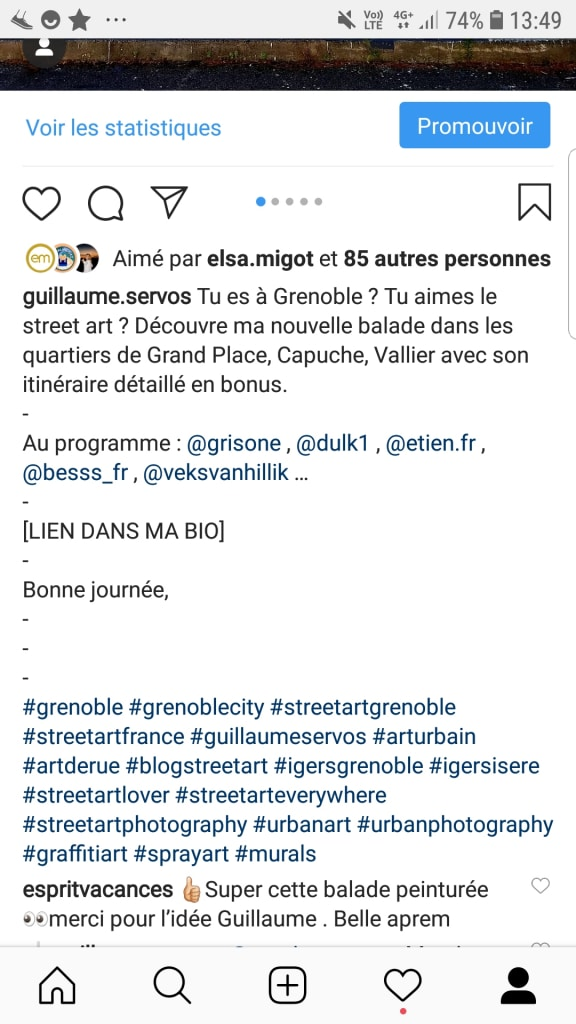 Éloigne tes hashtags Instagram de ta description