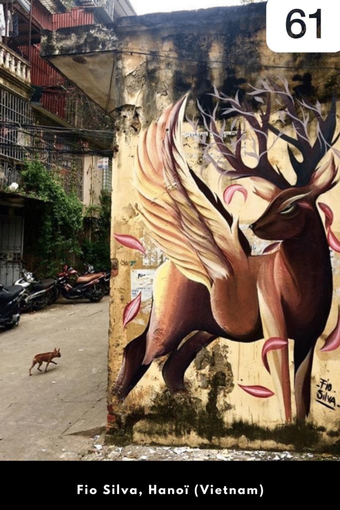 Street artiste à suivre en 2021 : Fio Silva