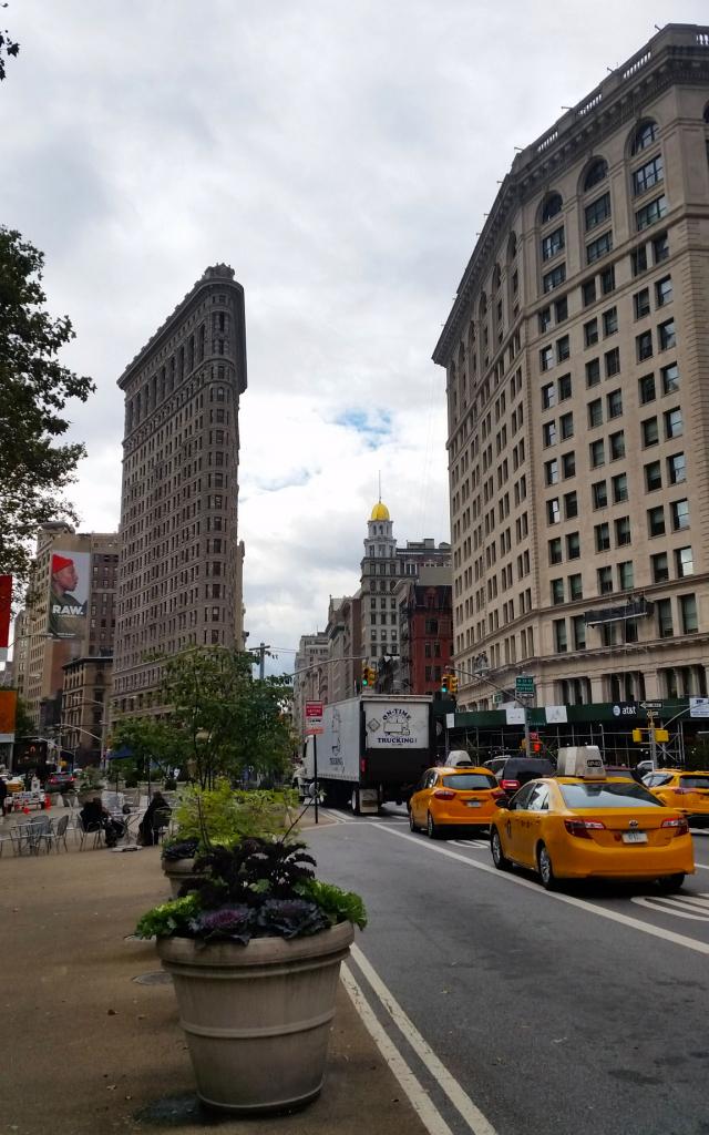 Flatiron Building, New York à pied