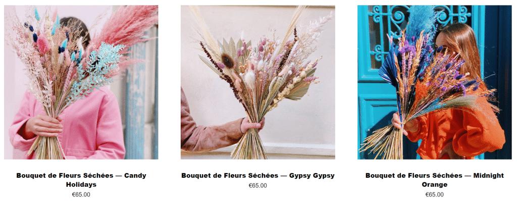 Les fleurs séchées de Pampa
