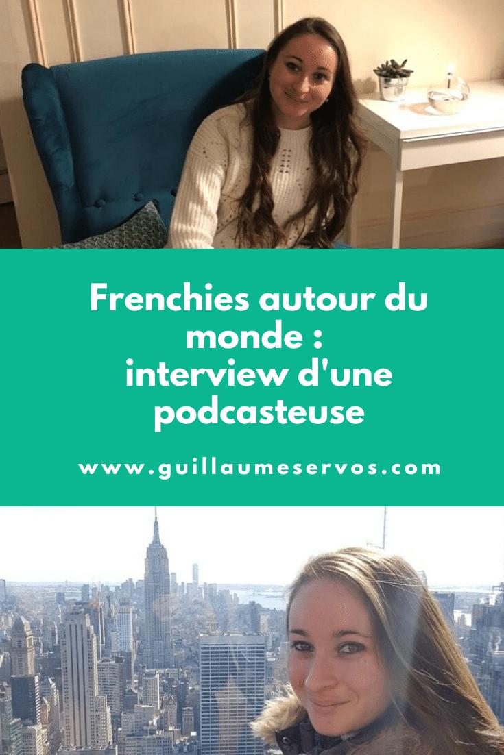 Découvre mon interview avec Adèle Deforge-Lenoir, créatrice du podcast voyage Frenchies autour du monde. Au menu : son rapport au podcast, au blogging, aux réseaux sociaux et au voyage.