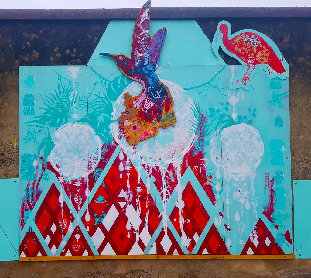 Art urbain près de la gare de Bourg-en-Bresse, Ain
