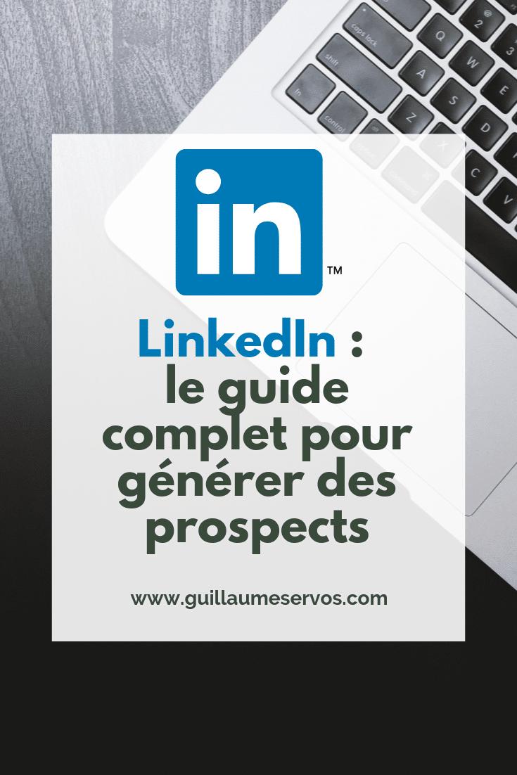 Découvre comment générer des prospects avec LinkedIn, le réseau social professionnel n°1 en France. Au menu : optimiser son profil LinkedIn, définir son client idéal, la barre de recherche avancée...
