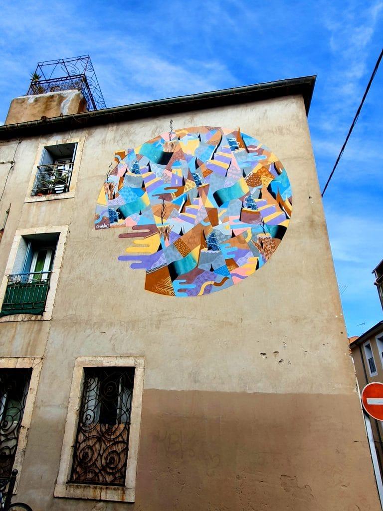 L'art urbain de GoddoG dans les rues de Sète (France)