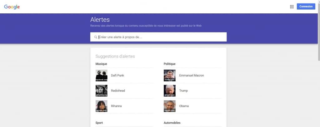 Configurer gratuitement des alertes avec Google Alertes pour promouvoir votre entreprise locale