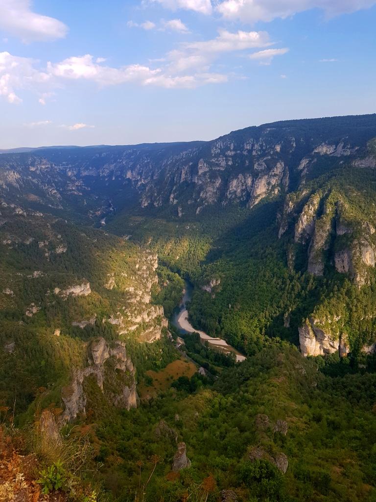 Le Point Sublime et les gorges du Tarn