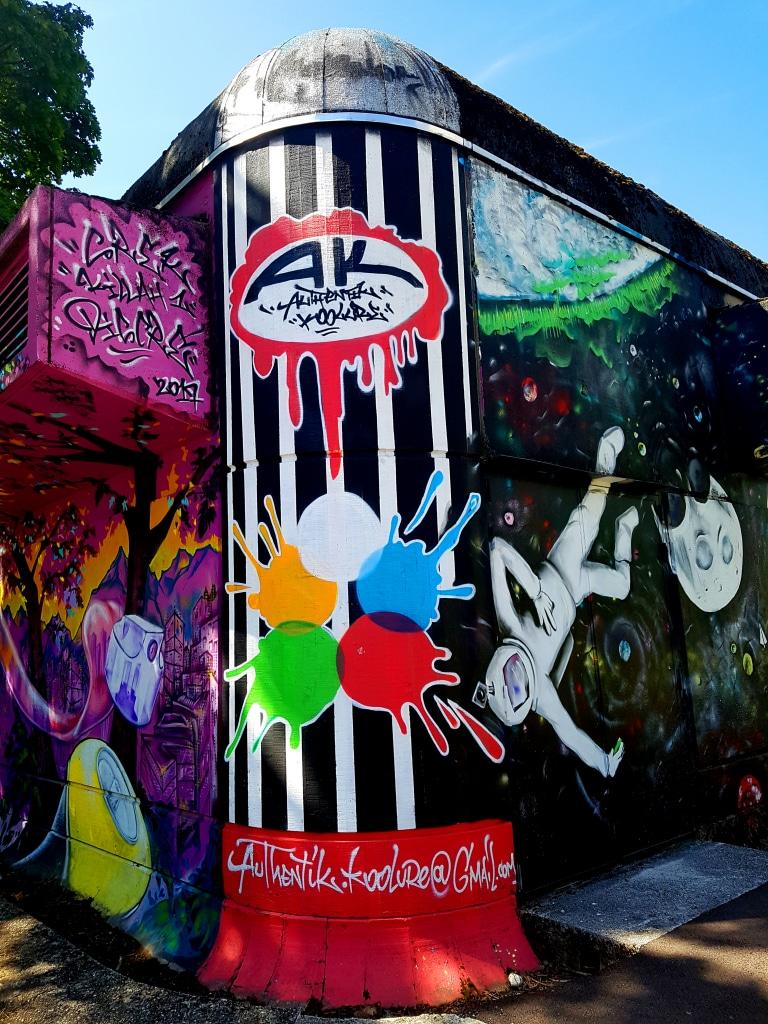 Street art Grenoble encore à créditer.