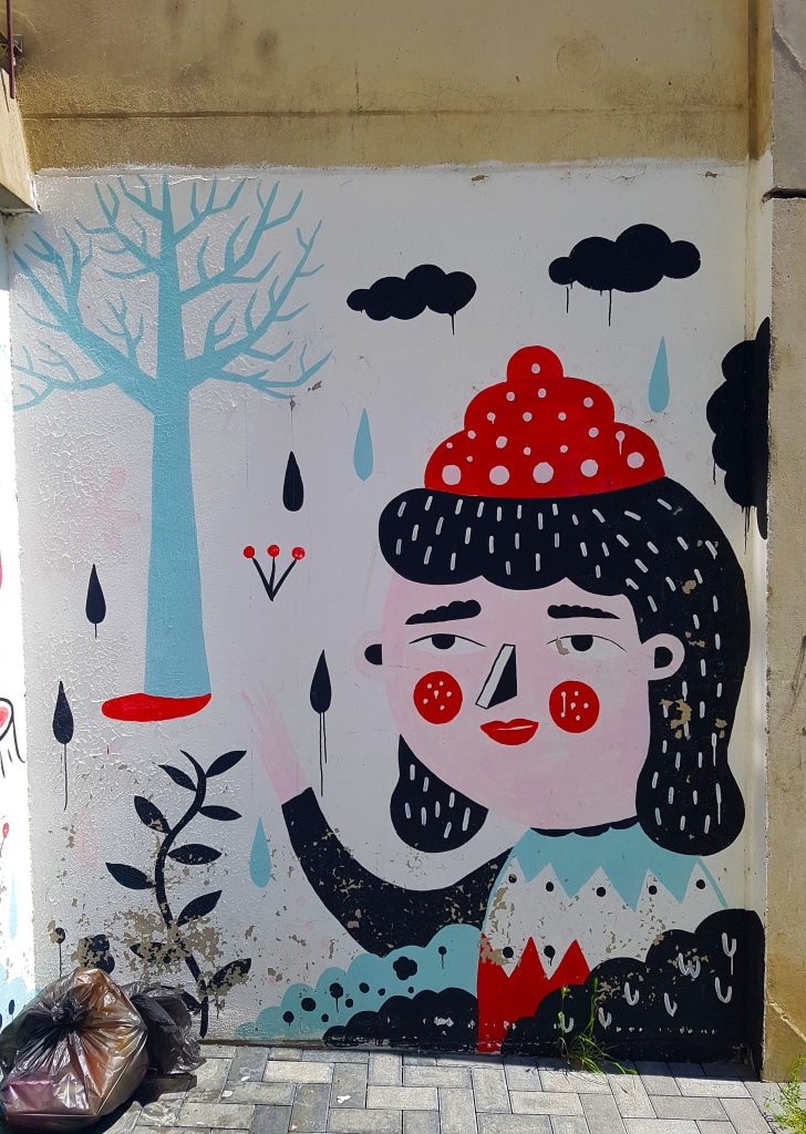 L'art urbain d'Harsa, rue du Petit Battant à Besançon