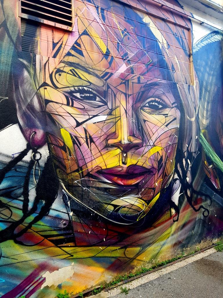 Hopare est l'une des figures montantes du street art en France. Street art à La Seyne-sur-Mer