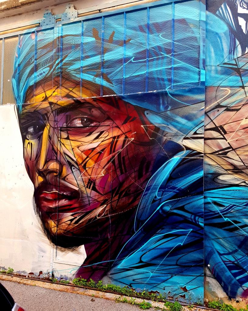 Hopare aka  Alexandre Monteiro est l'une des figures montantes du street art en France. Street art à La Seyne-sur-Mer