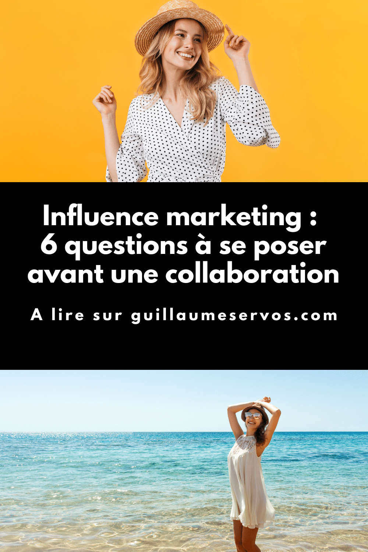 L'influence marketing et le fait de collaborer avec des influenceurs restent l'un des meilleurs moyens pour atteindre de nouvelles audiences et de promouvoir ses produits ou de ses services.