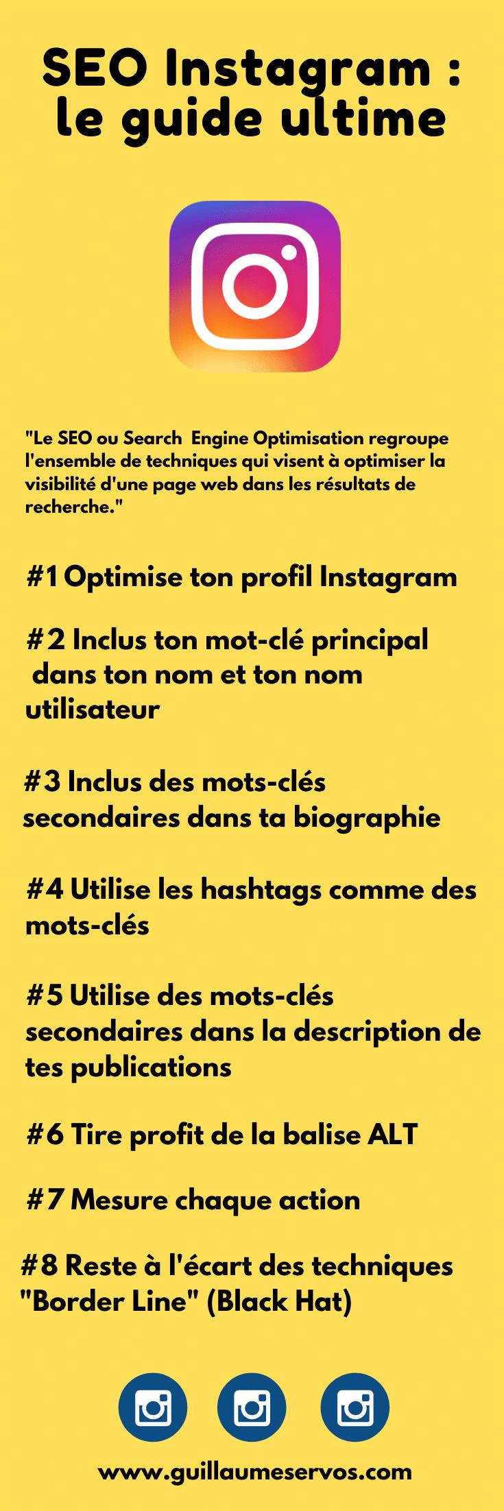 Comment augmenter la visibilité de ton profil et le trafic vers ton site internet en soignant ton SEO Instagram ? Au menu : bio, nom utilisateur, hashtag, analytics...