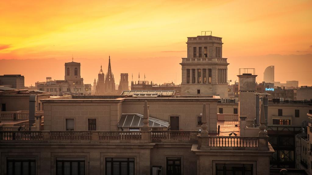 La golden hour à Barcelone; découvre mes anecdotes insolites