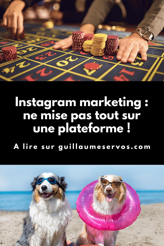 Sur combien de plateformes dois-tu vraiment être pour réussir ? As-tu vraiment besoin d'être sur Instagram, Pinterest, Facebook, TikTok, YouTube ou Snapchat ?