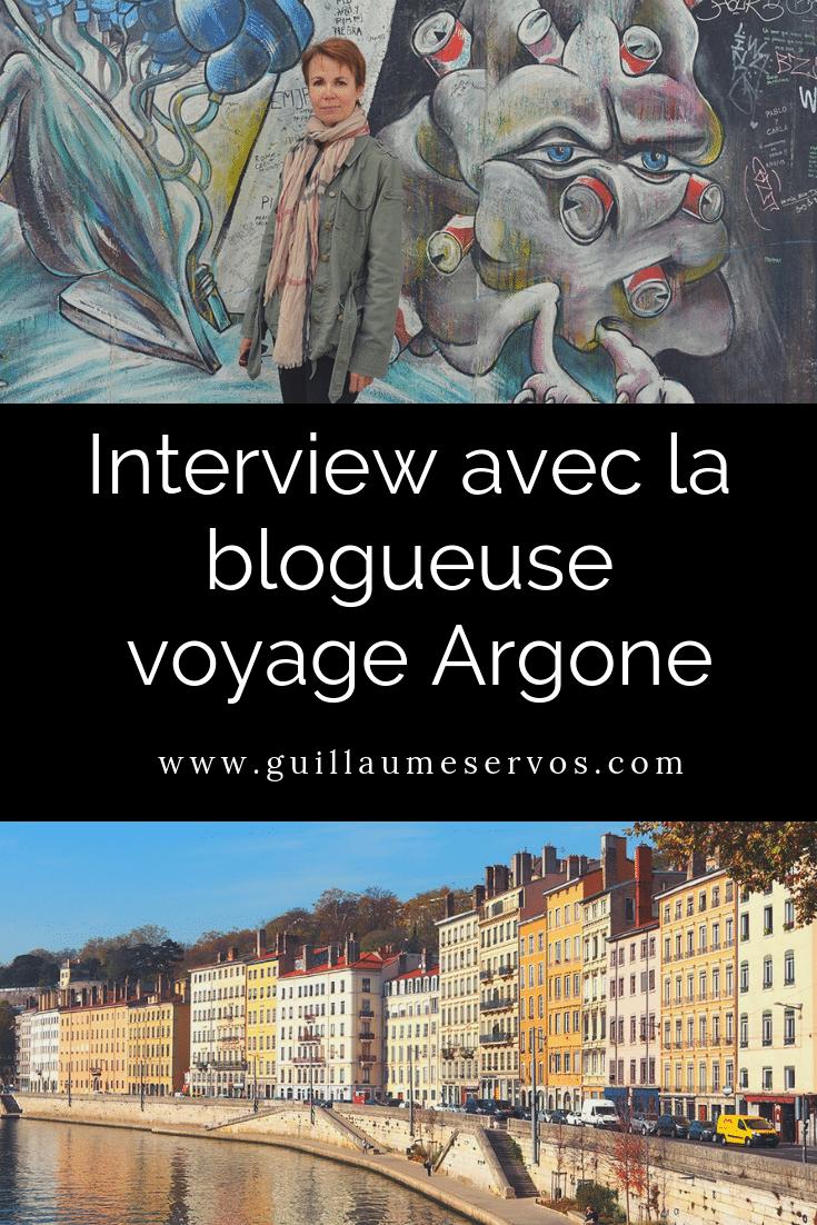 Découvre mon interview avec la blogueuse Argone: son rapport au blogging, aux réseaux sociaux, au voyage et sa carte blanche.
