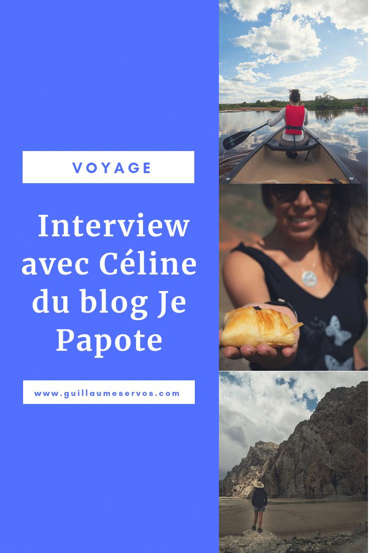 Découvre mon interview avec la blogueuse voyageJe Papote. Au menu : son rapport au blogging, aux réseaux sociaux et au voyage