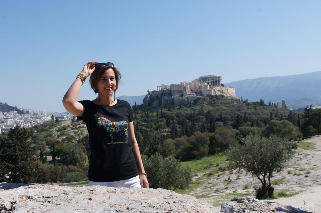Interview Laure du site Vivre Athènes