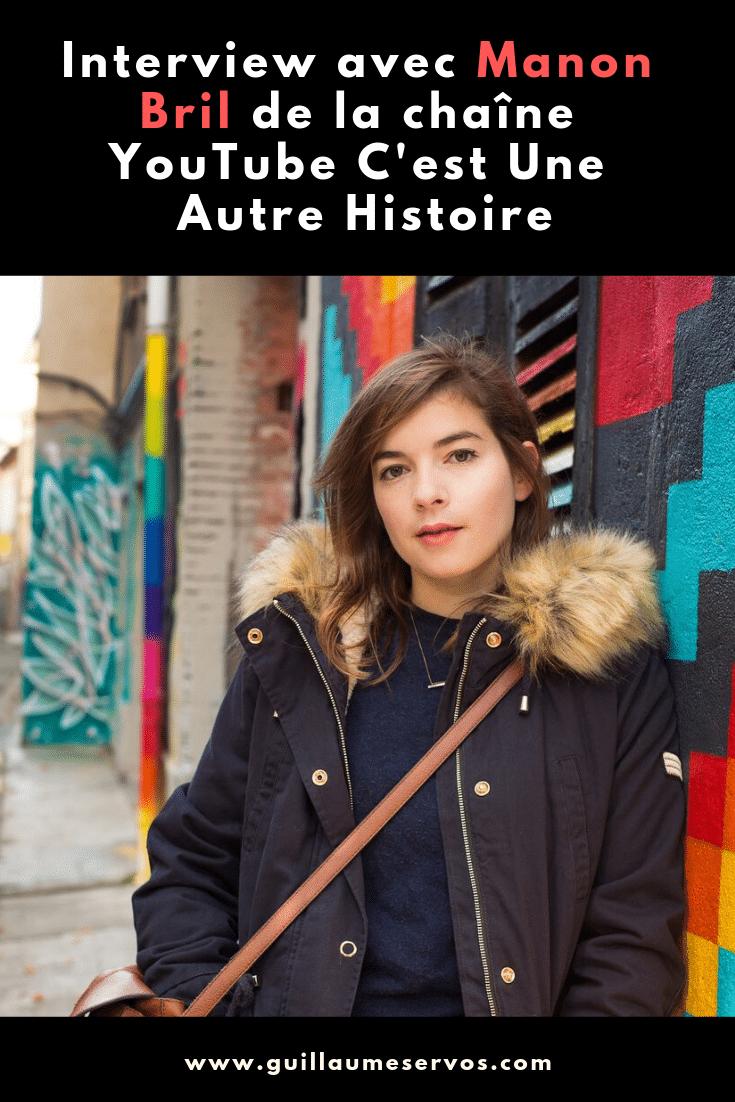 Découvre mon interview avec Manon Bril de la chaîne C'est Une Autre Histoire. Au menu : son rapport à YouTube, aux réseaux sociaux et au voyage.