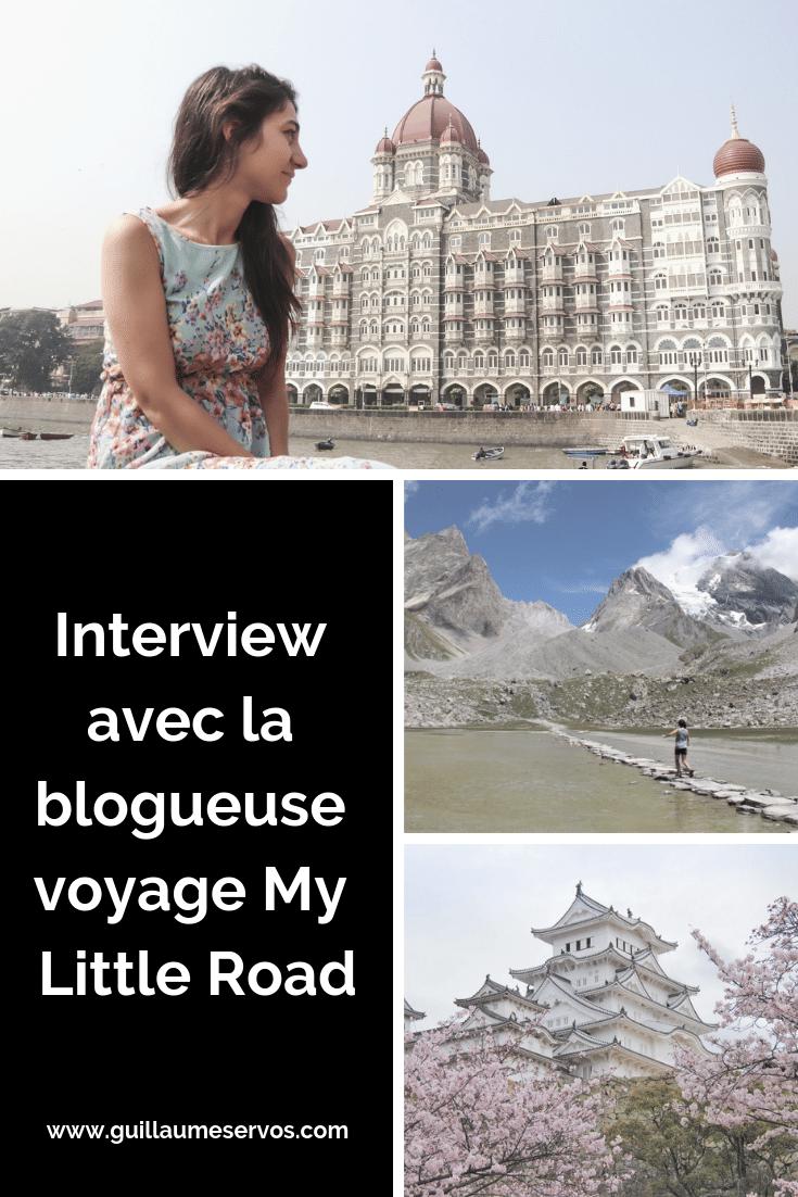 Découvre mon interview avec la blogueuse voyage My Little Road. Au menu : son rapport à son blog, aux réseaux sociaux, au voyage et sa carte blanche.