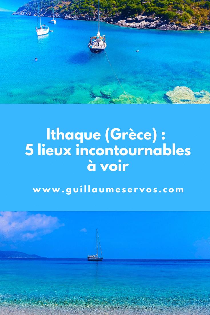 Découvre mes coups de cœur à Ithaque en Grèce. Au menu : les plages de Gidaki, Filiatro-Sarakiniko, les villages de Vathi et Kioni...