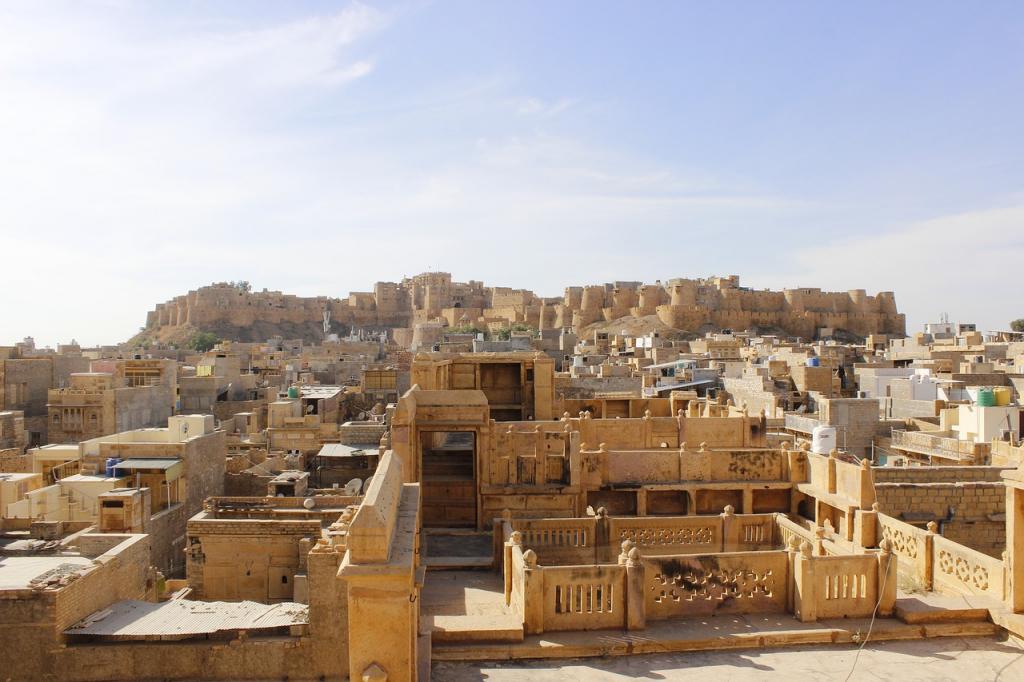 Jaisalmer la jaune en Inde