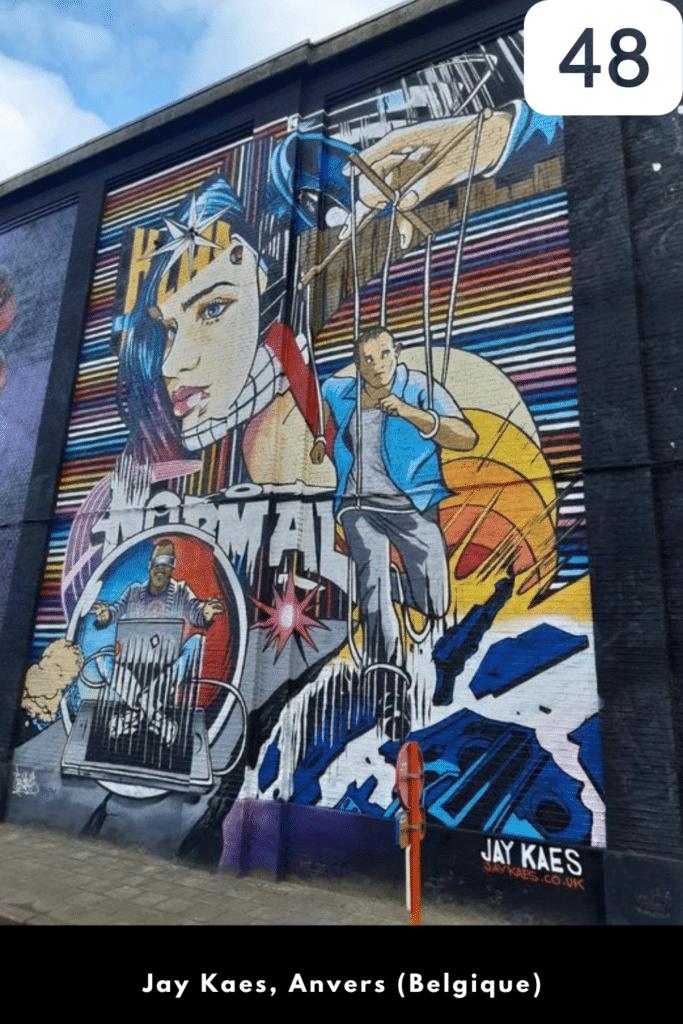 Street artiste à suivre en 2021 : Jay Kaes