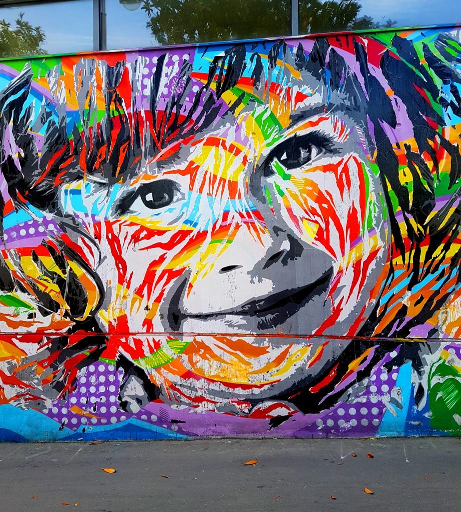 Le street art de Jo Di Bona dans le 13 arrondissement de Paris