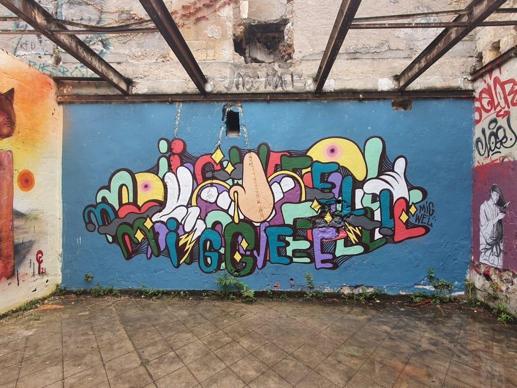 Street art Bordeaux #10 : Julien Migwel