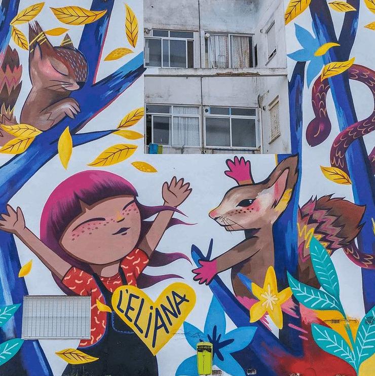 Street artiste à suivre en 2021 : Julietta XLF