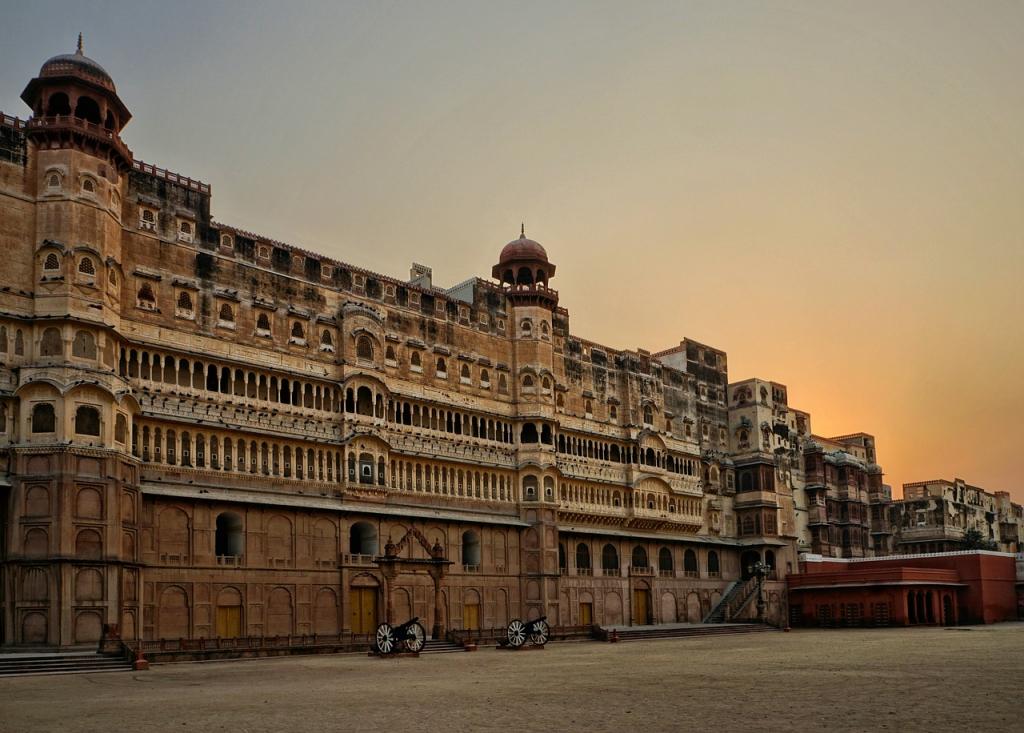 Junagarth Fort à Bikaner (Inde)