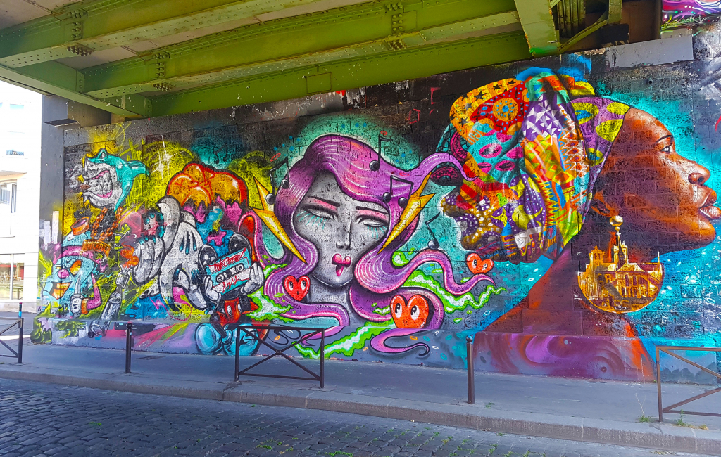 La collaboration de Kaldea pour Ourcq Living Colors (street art Paris)
