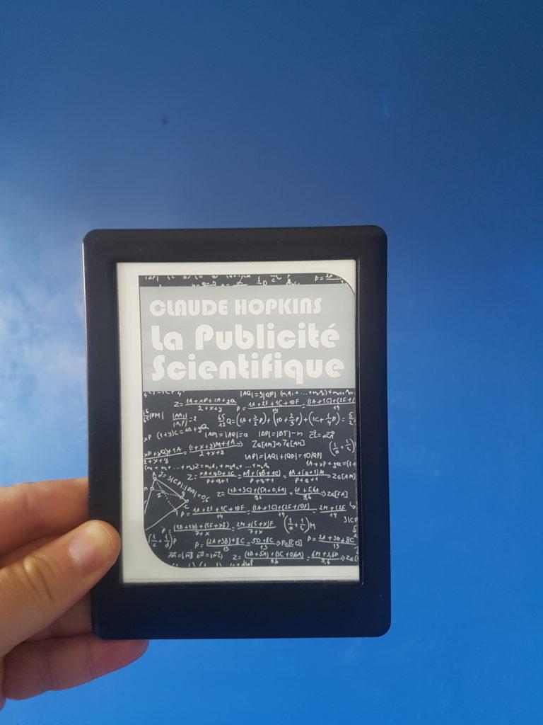 La version e-book de la publicité scientifique de Claude Hopkins