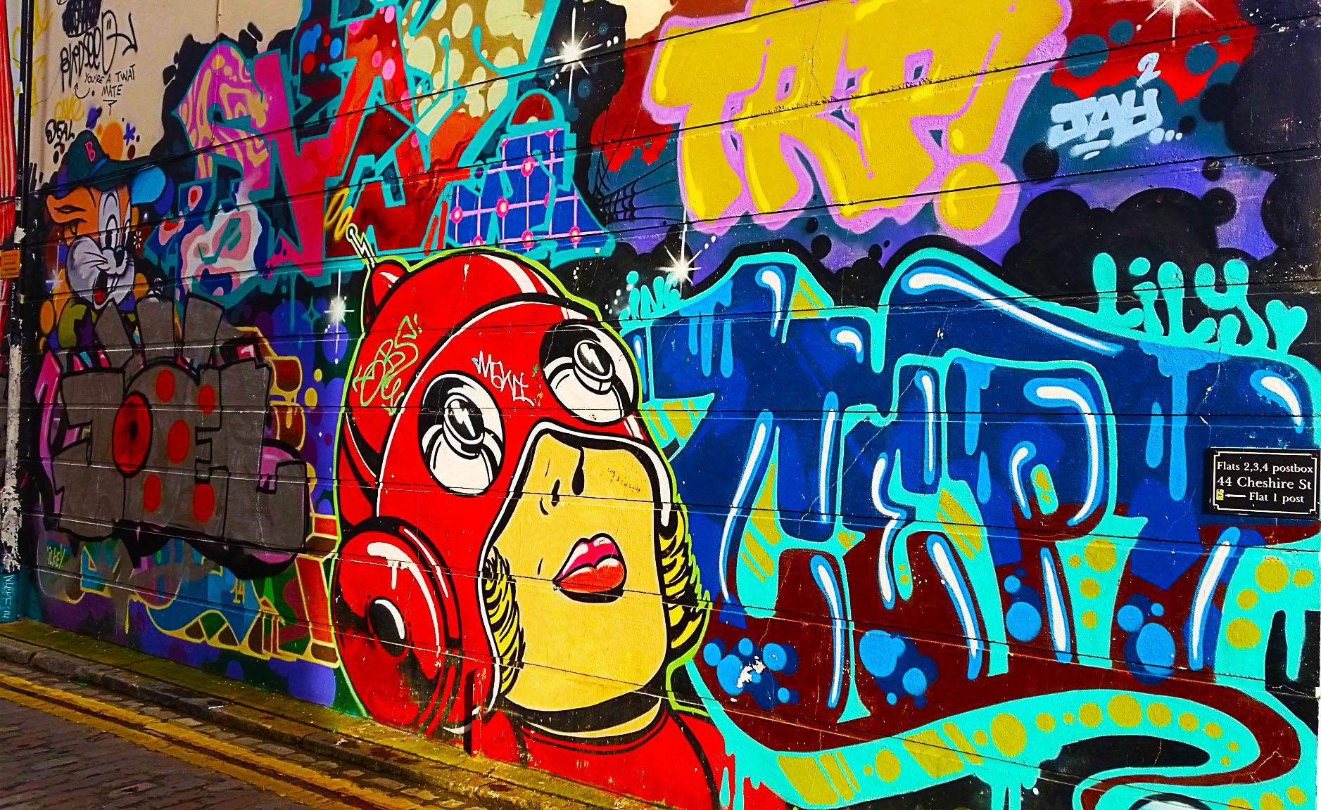 Les meilleures villes en Europe pour voir du street art