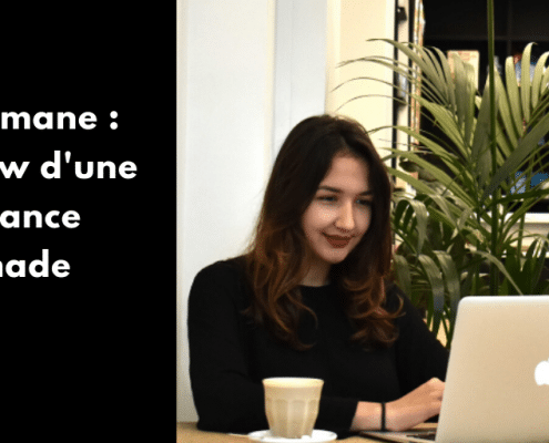 Découvre mon interview avec Lise Slimane de la Minute Freelance, formatrice et coach. Au menu : son rapport au freelancing, aux réseaux sociaux et au voyage.