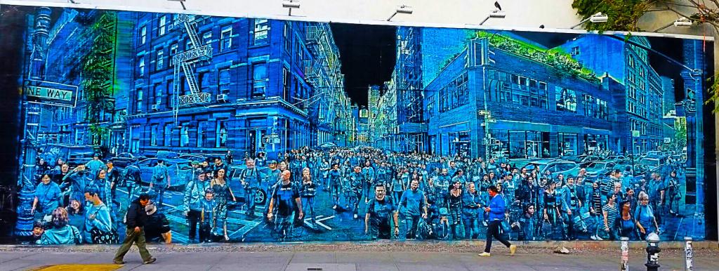 Lower East Side en street art, New York à pied
