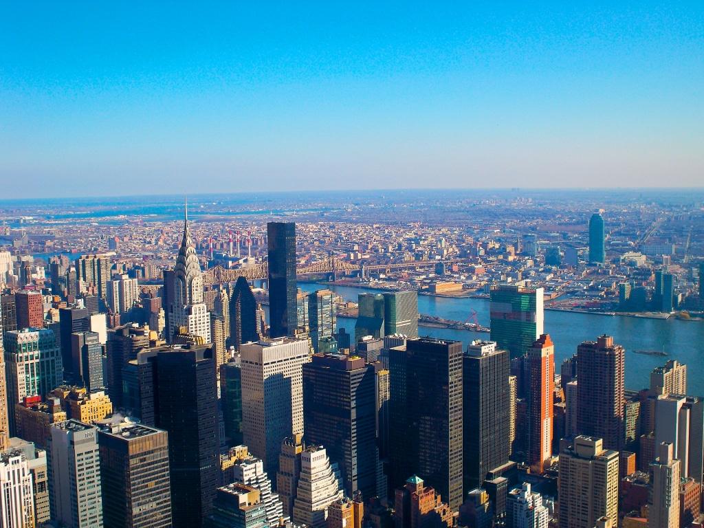 Vue de manhattan à New York par Lycia Diaz aka La Webeuse