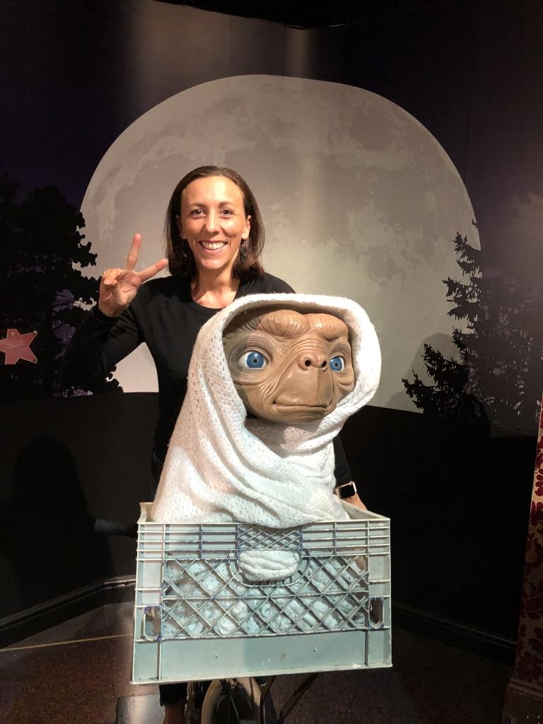 Lycia Diaz chez Madame Tussaud à Londres