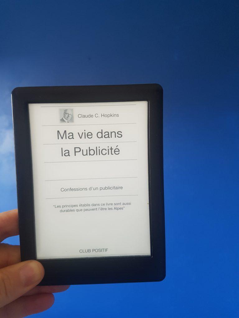 La version e-book de ma vie dans la publicité de Claude Hopkins