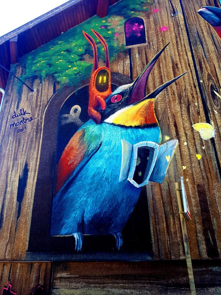 Mantra et Dulk, 2 rue Maréchal Foch, Saint-Martin-D'Hères, street art Grenoble
