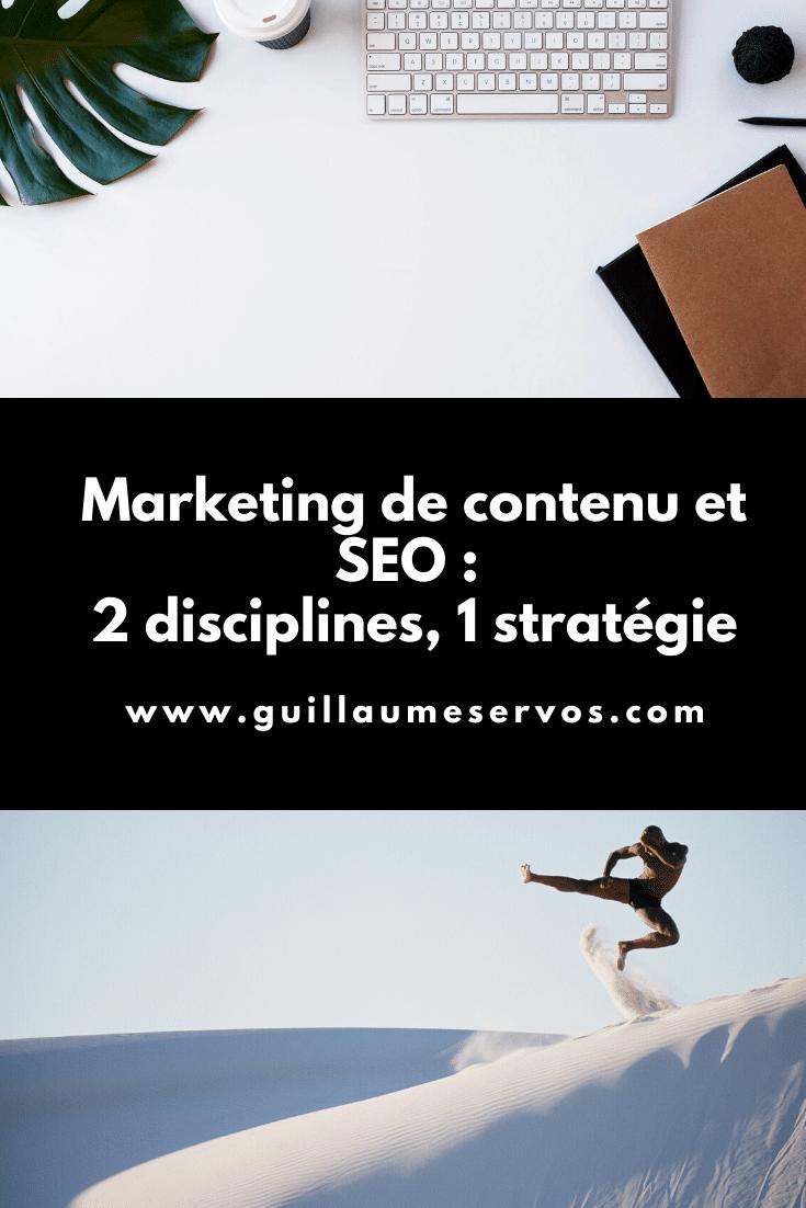 Qu'est-ce que le marketing de contenu ? Quels sont les différents types de SEO ?  En quoi consiste une stratégie de contenu ? Pourquoi distinguer marketing de contenu et SEO ?
