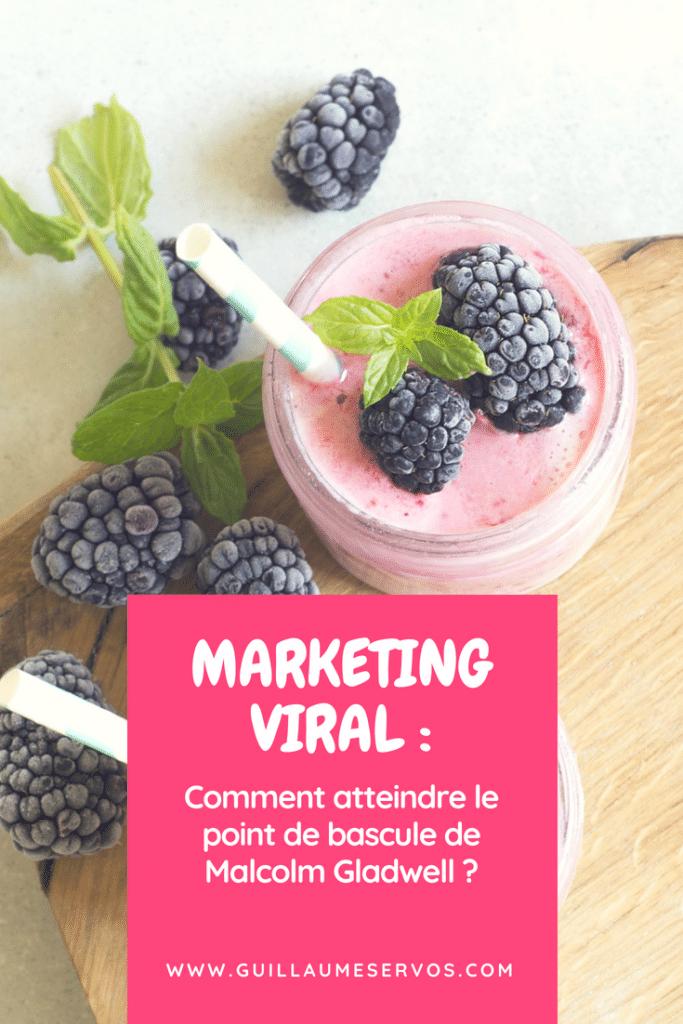Découvre le principe du marketing viral avec le journaliste Malcolm Gladwell. Comment faire une grande différence avec de très petites choses ?