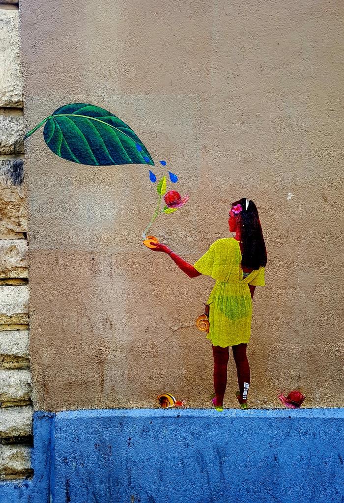 Le street art de Marquise dans le 13 arrondissement de Paris