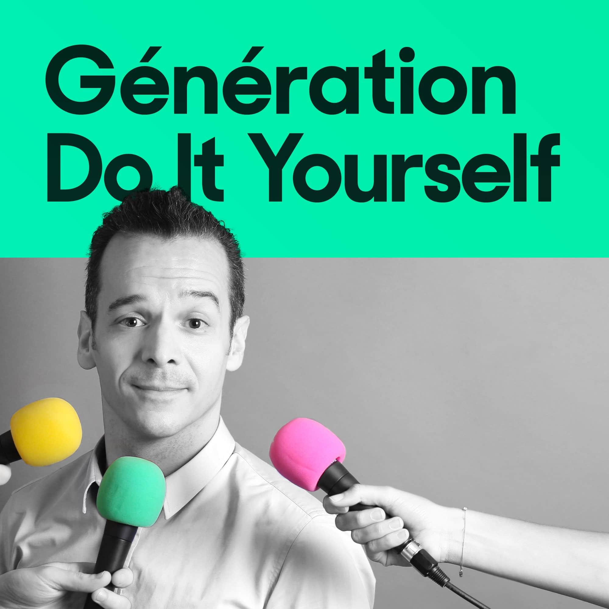 Matthieu Stefani pour son excellent podcast Génération Do It Yourself