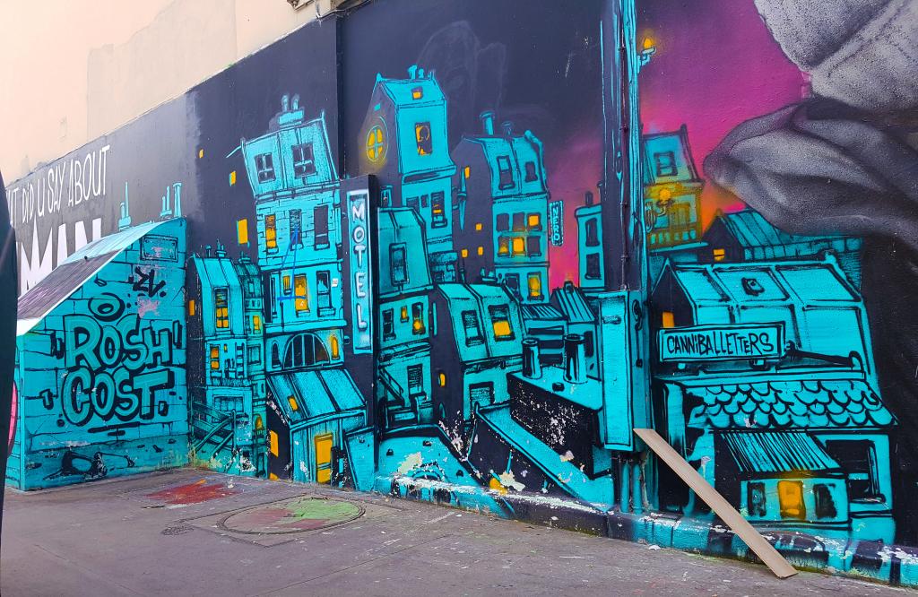 rue de la Fontaine-au-Roi, street art Paris.