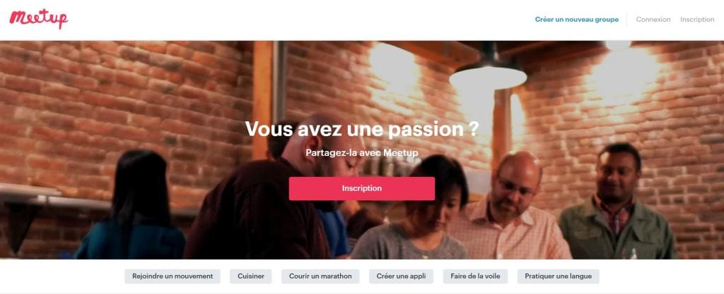 S'inscrire au site internet Meetup pour promouvoir son entreprise